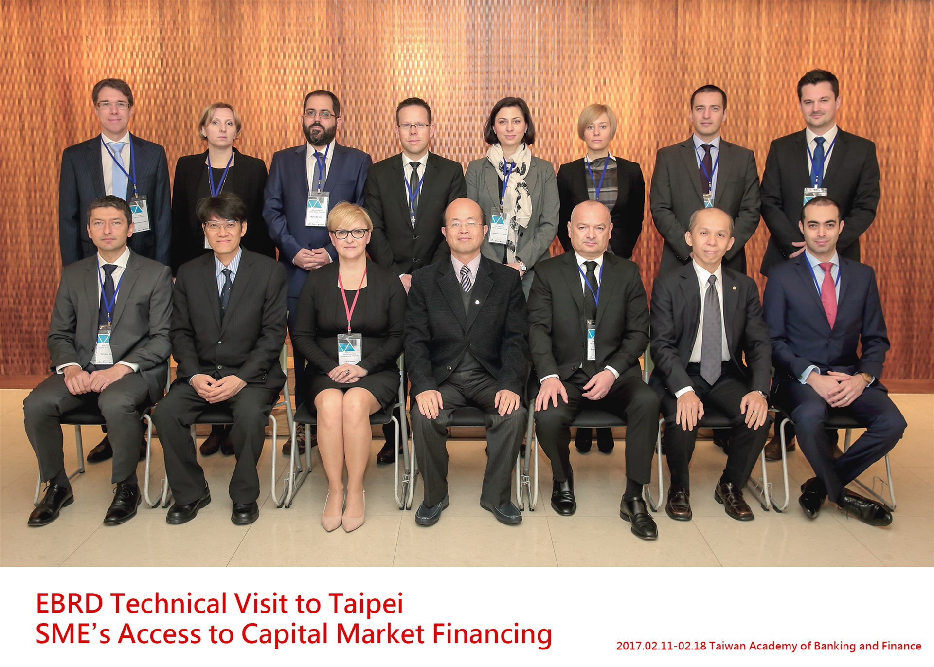 1060213-0217 EBRD Technical Visit to Taipei: SME's Access to Capital Market Financing